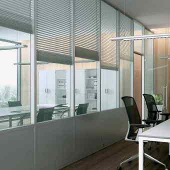 Hliníkové konštrukcie MB 80 office